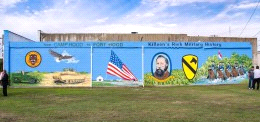 New Killeen mural a military tribute