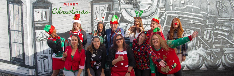 Staff Merry Christmas